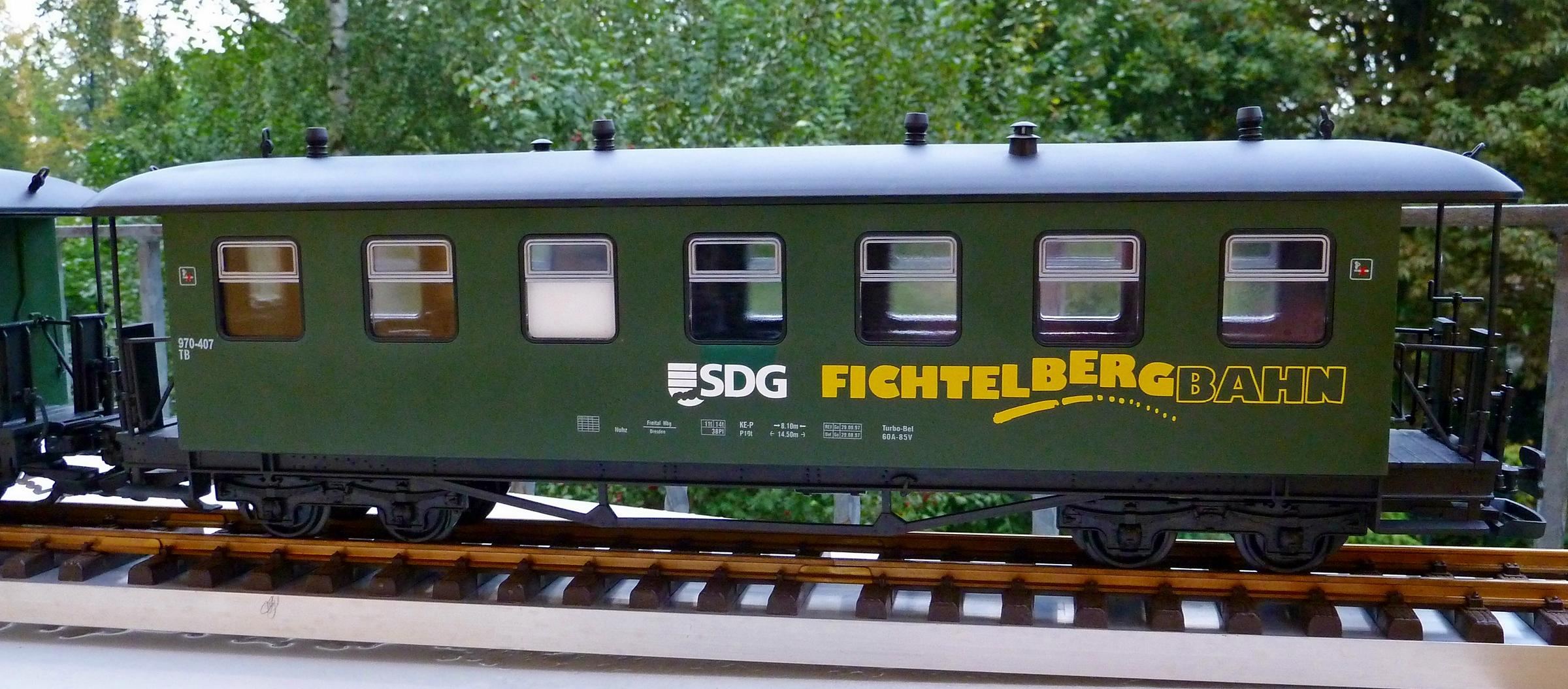 Eigenbau Wagen Meine Gartenbahn